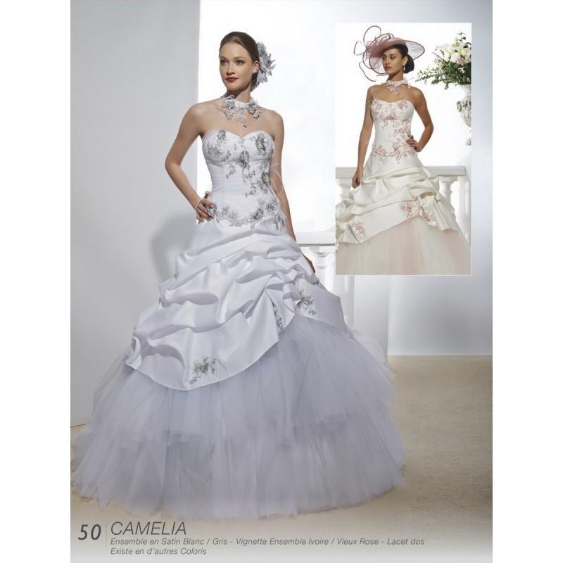 Hochzeit - Robes de mariée Annie Couture 2016 - camelia - Superbe magasin de mariage pas cher