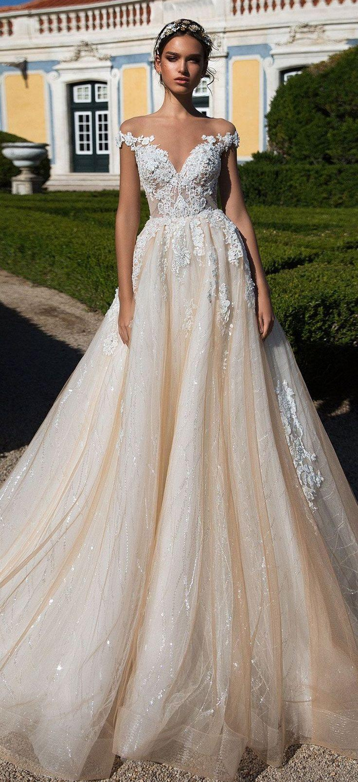 4efccc65b8d Dress - Milla Nova Wedding Dress Inspiration  2825346 - Weddbook