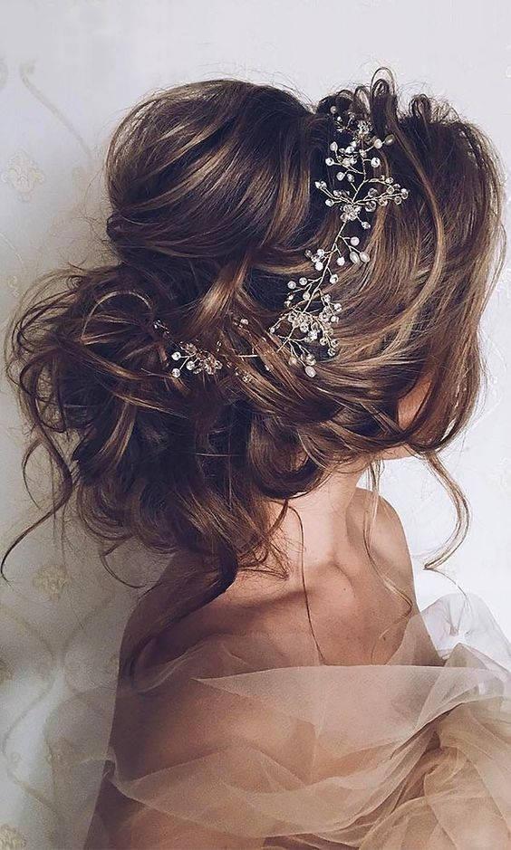 Свадьба - Crystal and Pearl hair vine Extra Long Hair Vine Bridal Hair Vine Wedding Hair Vine Crystal Hair Piece Bridal Jewelry Hair Vine Pearl