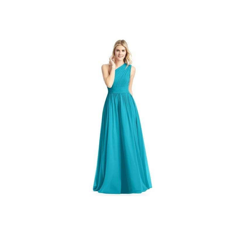 Свадьба - Jade Azazie Molly - One Shoulder Floor Length Chiffon Back Zip Dress - Charming Bridesmaids Store