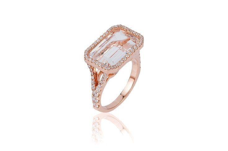Wedding - Emerald-Cut Engagement Rings For Your Gawking Pleasure