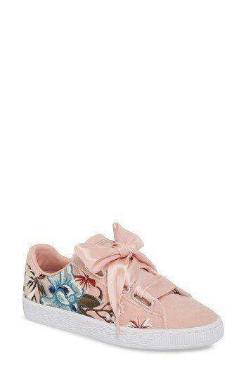 Mariage - Basket Heart Hyper Embroidered Sneaker