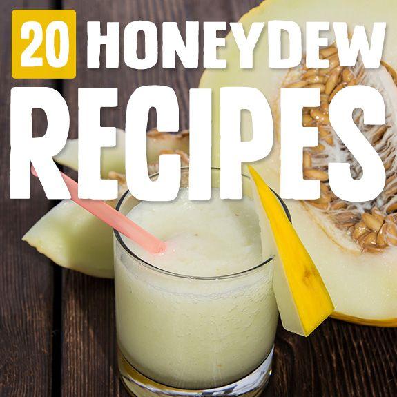 زفاف - 20 Tasty Honeydew Recipes