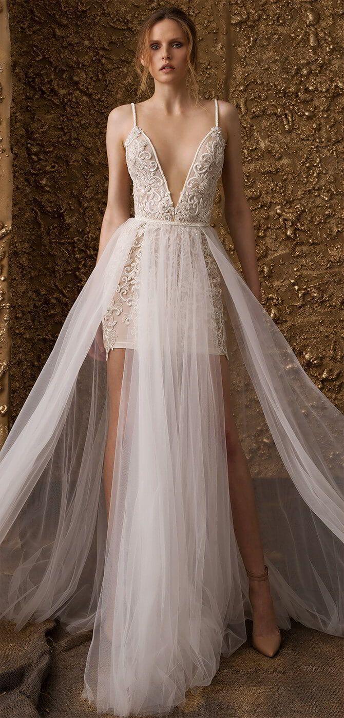 """زفاف - Nurit Hen 2018 """"Golden Touch"""" Wedding Dresses Sponsored Highlight"""