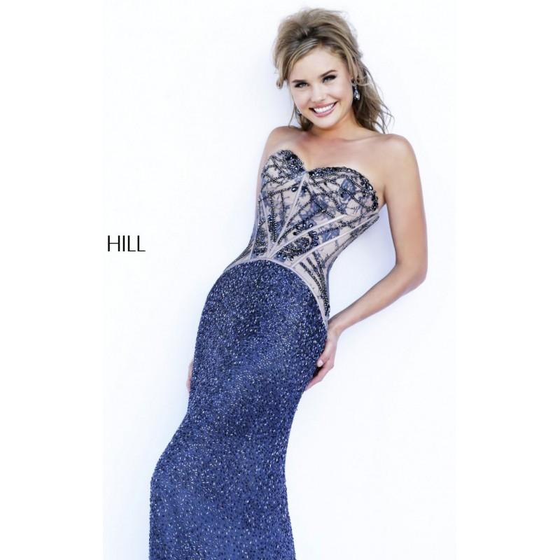Wedding - Strapless Beaded Gown Dresses by Sherri Hill 11244 - Bonny Evening Dresses Online