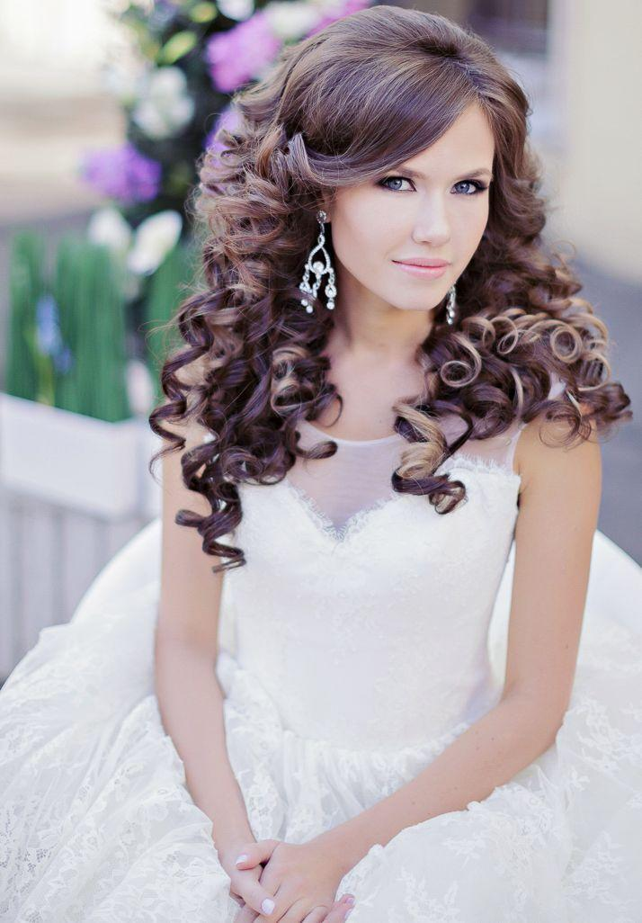 Mariage - Glamorous Wedding Hairstyles With Curls