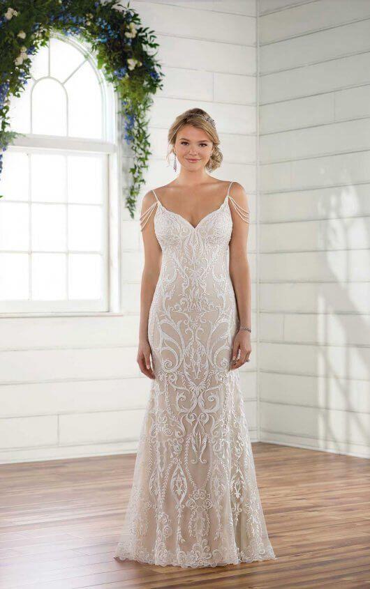 Wedding Theme Vintage Glam Wedding Dress 2826441 Weddbook