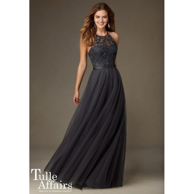 Свадьба - Morilee Bridesmaids 136 Floor Length Tulle & Beaded Embroidery Dress - Crazy Sale Bridal Dresses