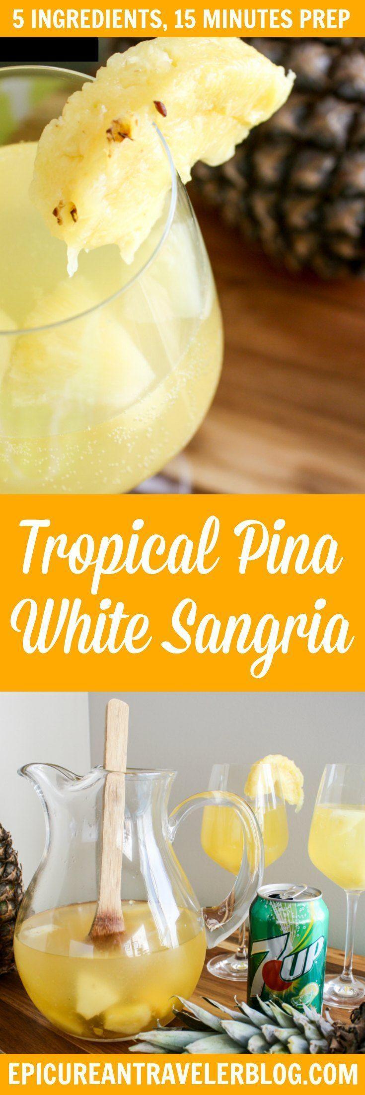 Wedding - Tropical Piña White Sangria