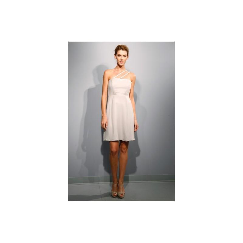 Wedding - 57 Grand FW12 Dress 11 - Mini Fall 2012 One Shoulder 57 Grand A-Line Ivory - Rolierosie One Wedding Store