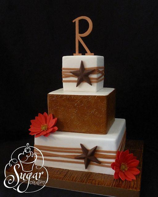 Gâteau Western Star Wedding Cake 2826632 Weddbook