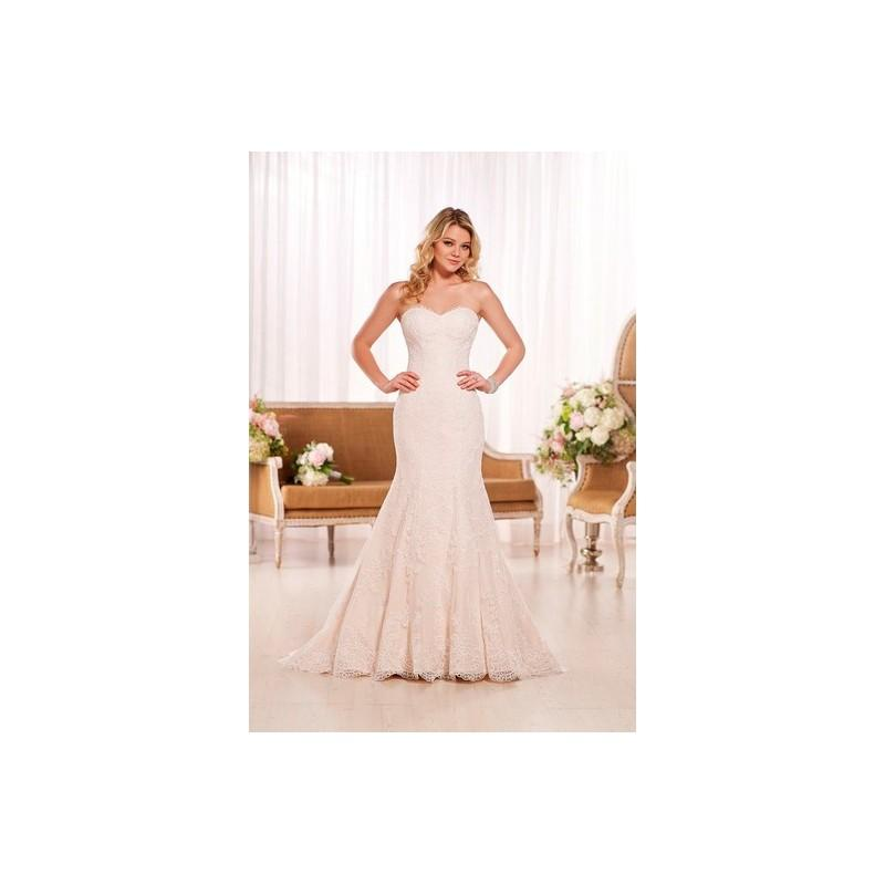 زفاف - Essense of Australia Wedding Dress Spring 2015 D1773 - Fit and Flare Essense of Australia Sweetheart Spring 2015 Full Length Ivo - Rolierosie One Wedding Store
