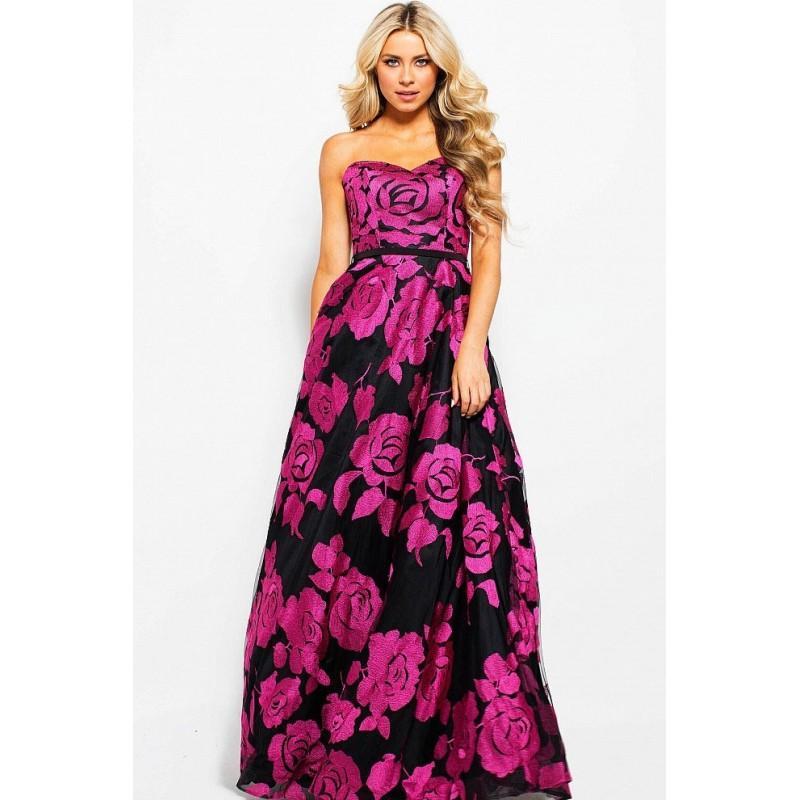 Wedding - Jovani - JVN60044 Strapless Sweetheart A-line Dress - Designer Party Dress & Formal Gown