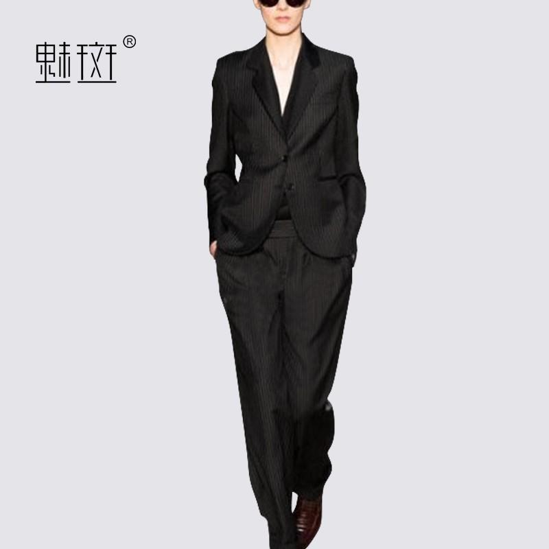Wedding - Vogue Long Sleeves Outfit Twinset Suit Casual Trouser - Bonny YZOZO Boutique Store