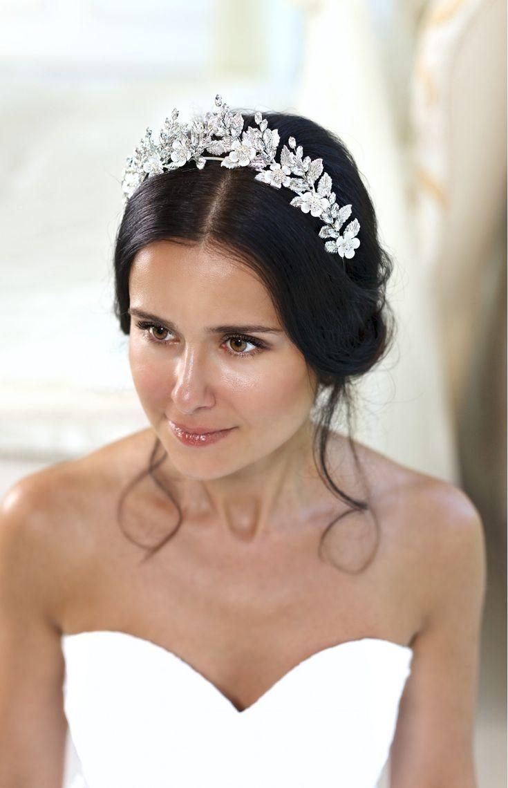 Amara silver leaf flower bridal tiara wedding crown 2826841 weddbook amara silver leaf flower bridal tiara wedding crown izmirmasajfo Choice Image