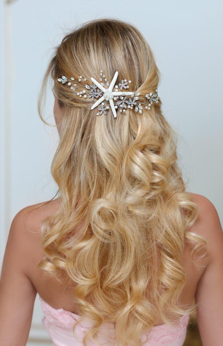 Despoina Starfish Headband For Destination Wedding Beach