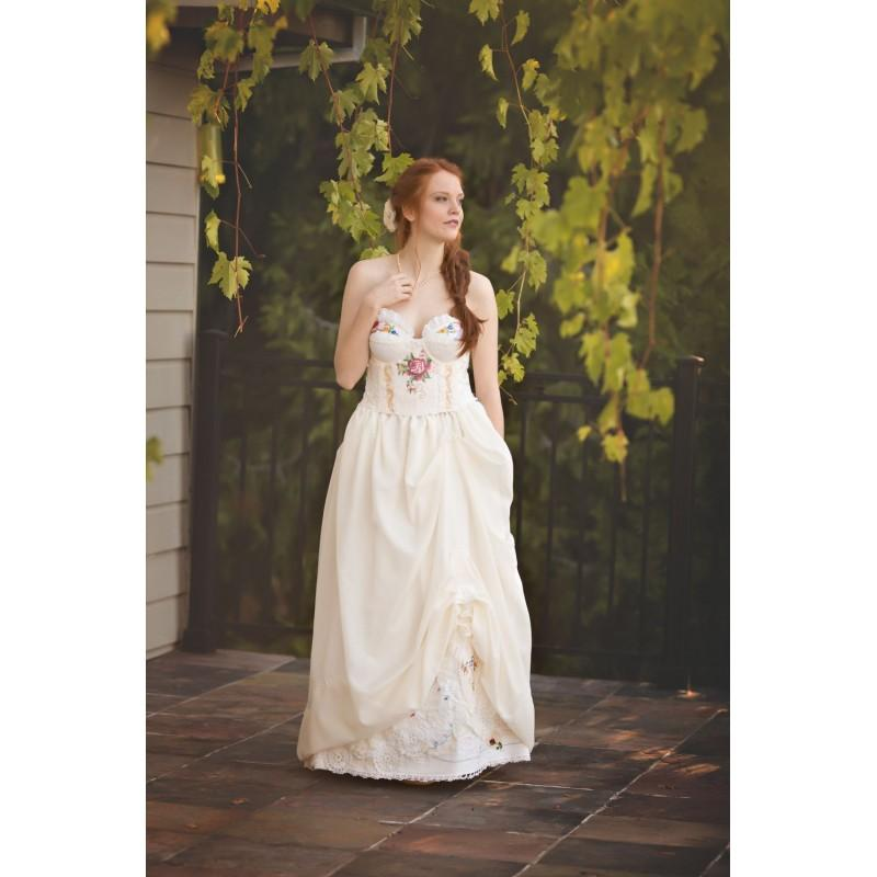 Rose Red Wildflower Wedding Gown, Rose Red Storybook Romance Bridal ...