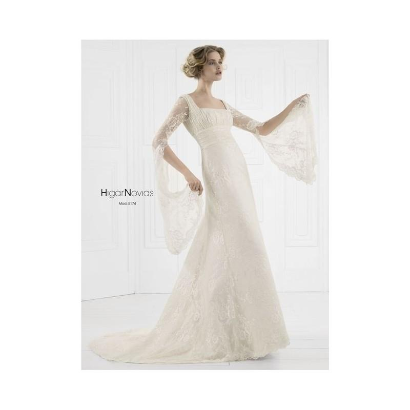 mod 5174 (higar novias) - vestidos de novia 2018 #2826986 - weddbook