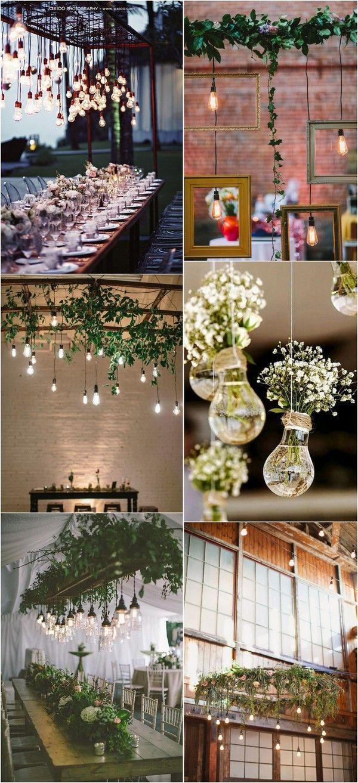 30 Brilliant Wedding Ideas To Use Edison Bulbs