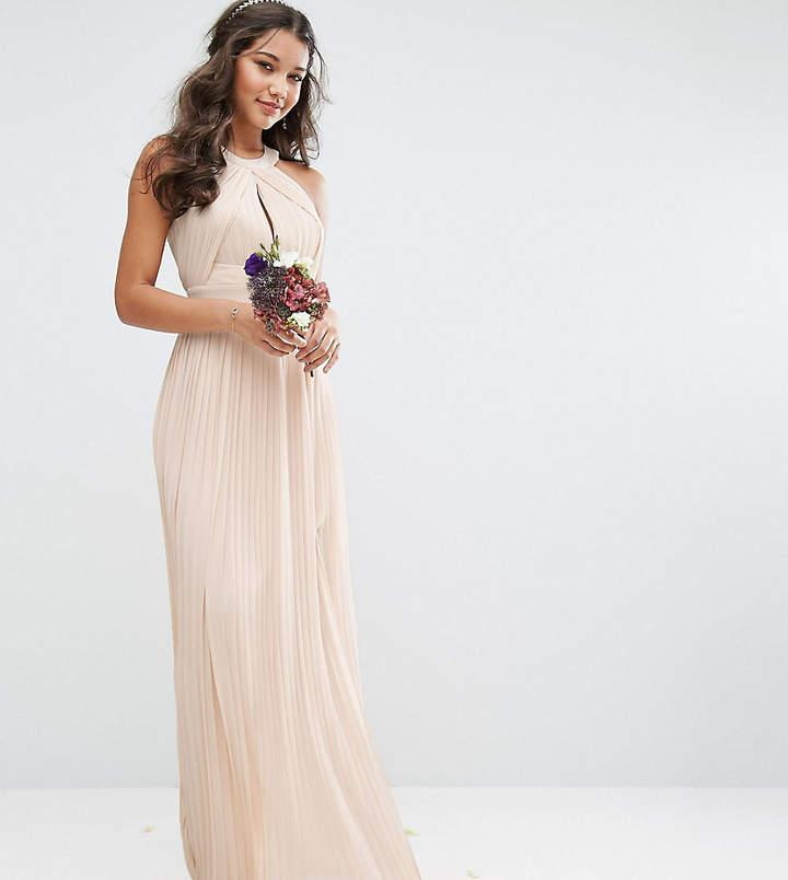 زفاف - TFNC WEDDING Pleated Maxi Dress