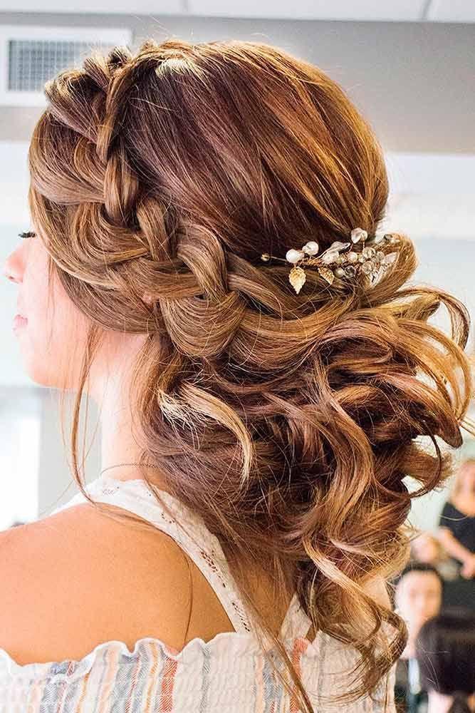Hair 48 Sophisticated Prom Hair Updos 2827244 Weddbook