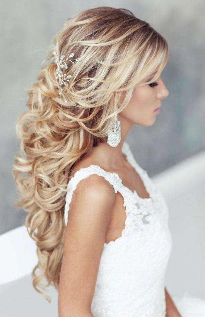 Mariage - Wedding Hairstyles For The Glamorous Look