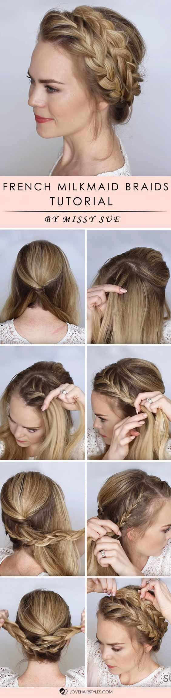 Mariage - How To Braid Hair Easy Tutorials