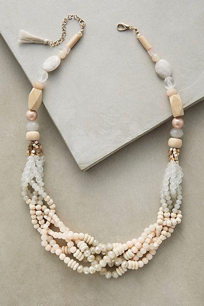 Hochzeit - Anini Braid Necklace