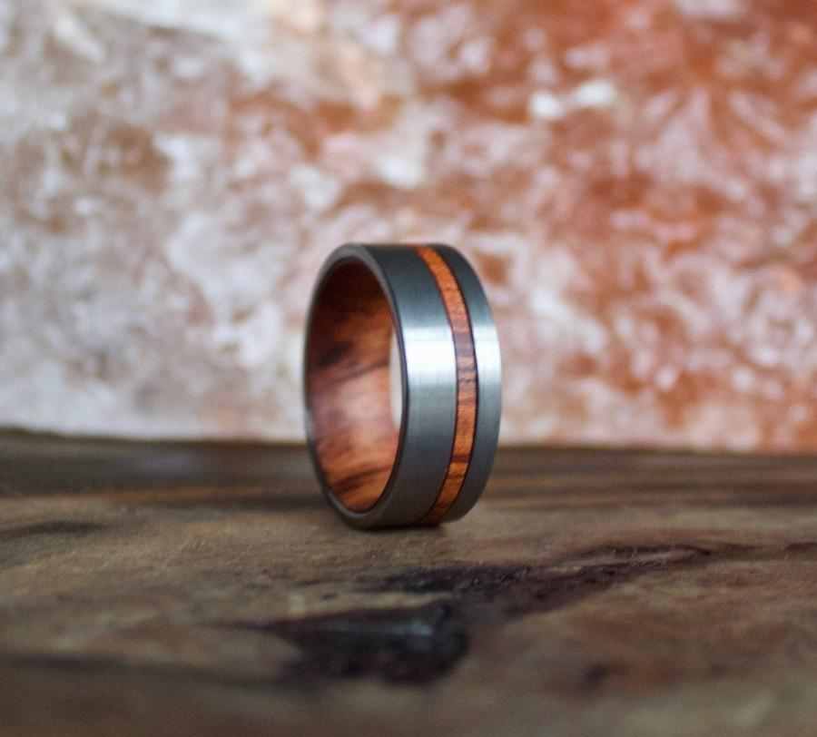 Свадьба - Wood Ring, Tungsten Carbide Ring, Mens Wood Ring, wooden ring, Wood, wooden rings, wedding band, Wood rings for men, Wood Inlay ring