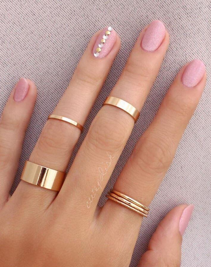 20 Pink And Pretty Nail Design Ideas - Nail - 20 Pink And Pretty Nail Design Ideas #2827369 - Weddbook