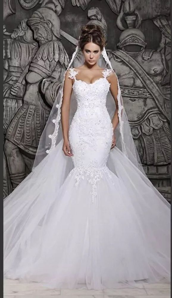 Habiller Davids Bridal Wedding Dress Size 4 2827404