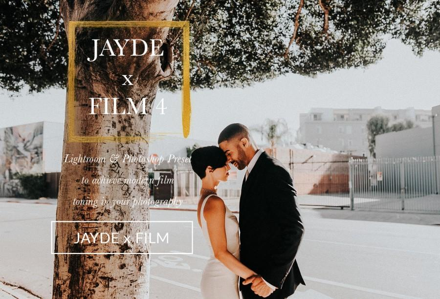 Hochzeit - JAYDE x Film 4 Moody Film Wedding Lightroom Preset And Photoshop ACR Film 1 - The Film Collection For Lightroom And Photoshop ACR