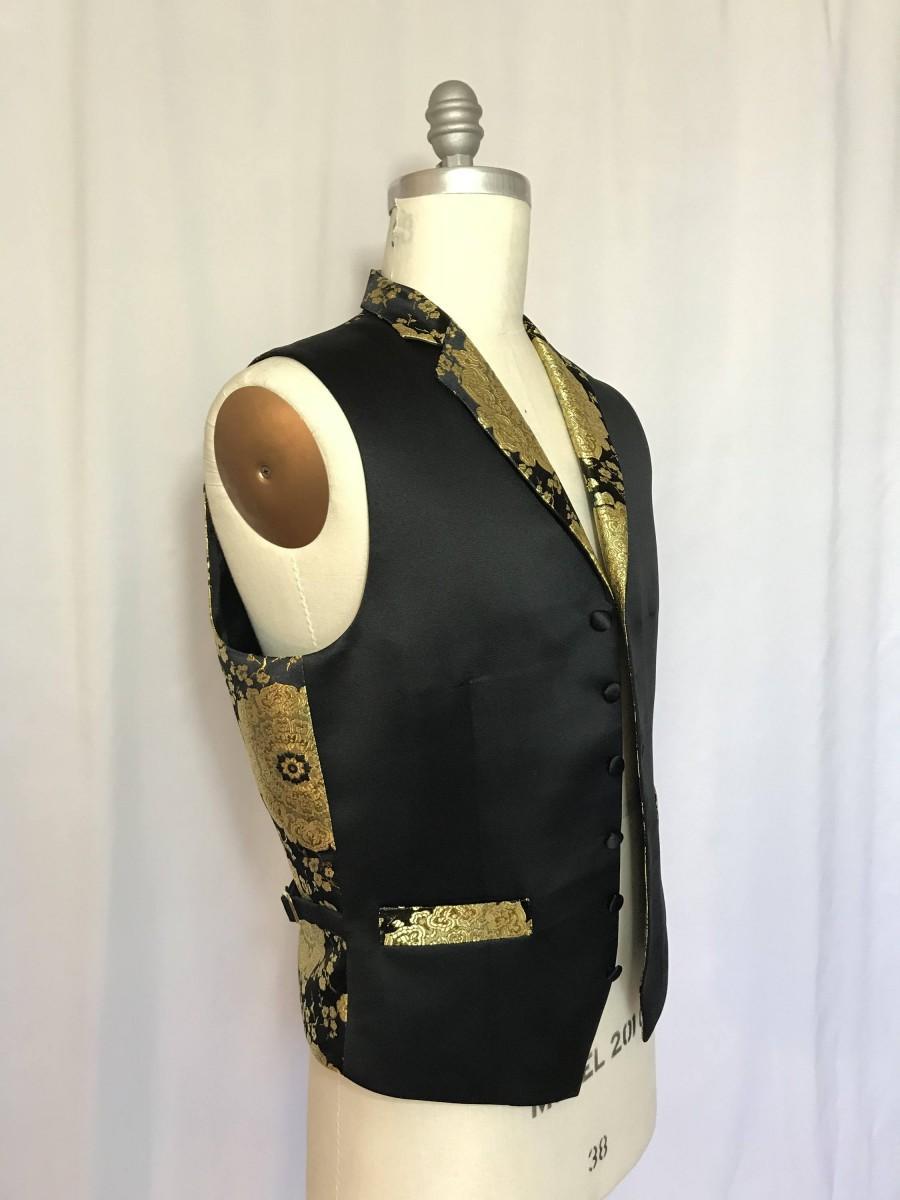 Hochzeit - Vest Brocade for man for wadding or evening dress