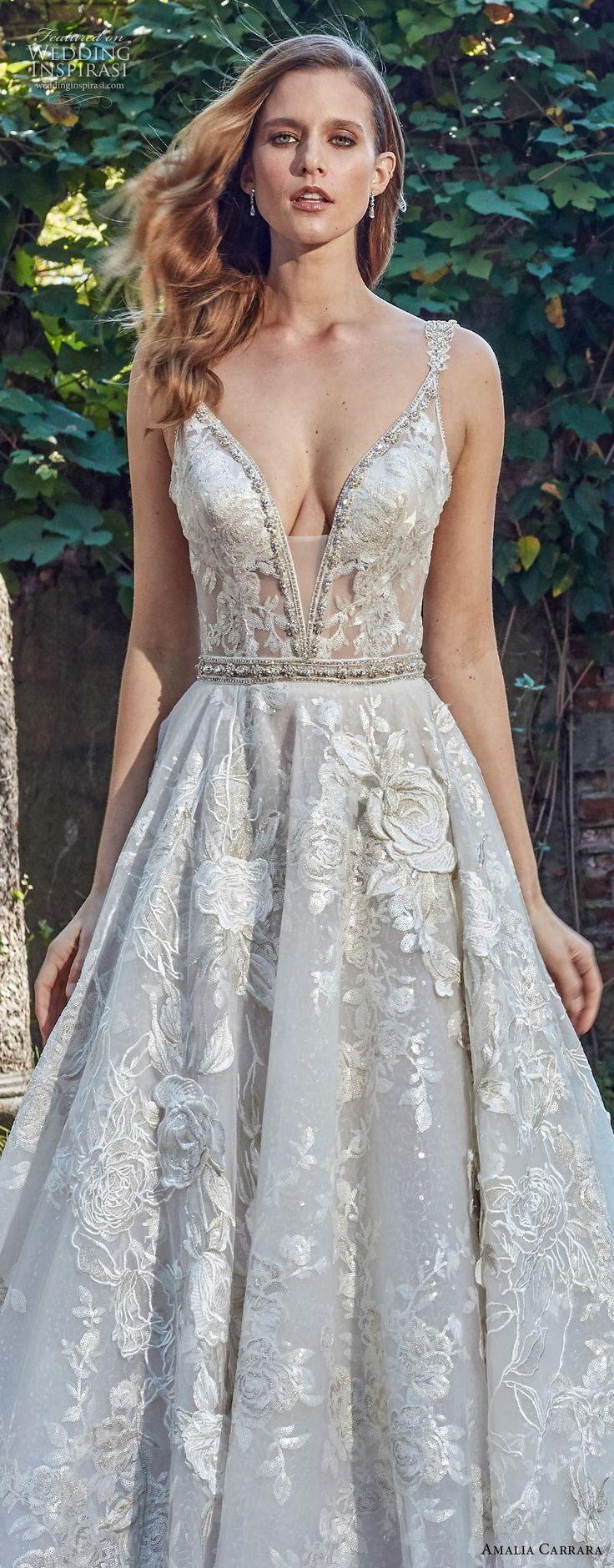 Hochzeit - Amalia Carrara Spring 2018 Wedding Dresses