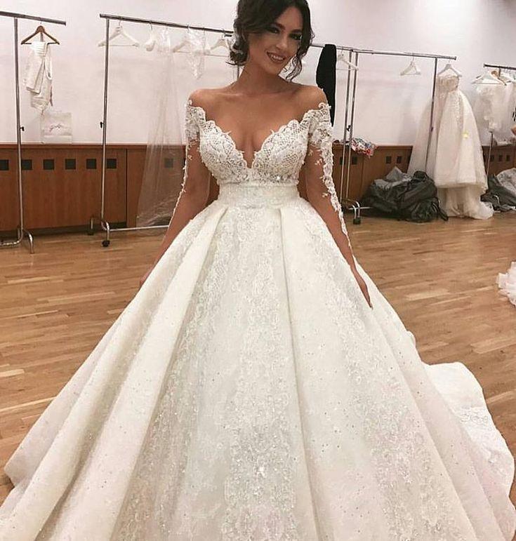 Mariage - Custom Long Sleeve Wedding Dresses By Darius Bridal