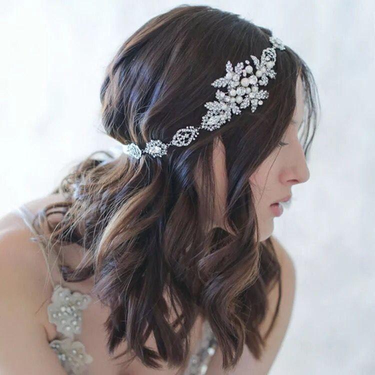 Mariage - Bridal Headpiece - Rhinestones Headpiece - Bridal Headband - Crystal Headpiece - Bridal Accessories