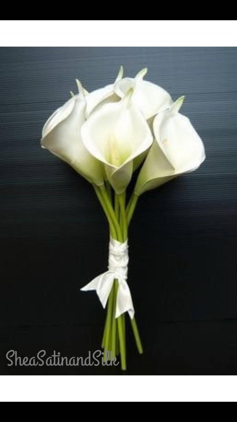 Свадьба - Calla Lily Bridal Bouquet