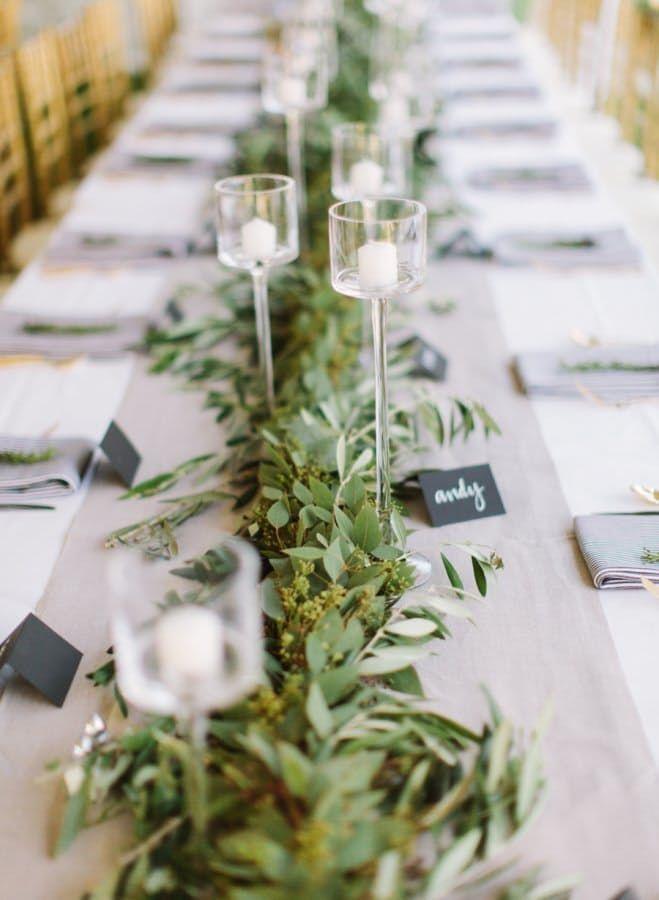 زفاف - 10 Easy DIY Ideas For Flowerless Wedding Centerpieces
