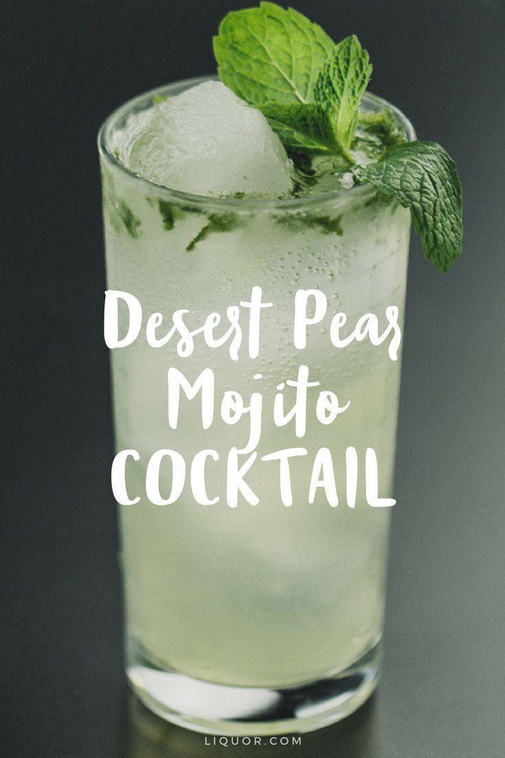 Hochzeit - Desert Pear Mojito