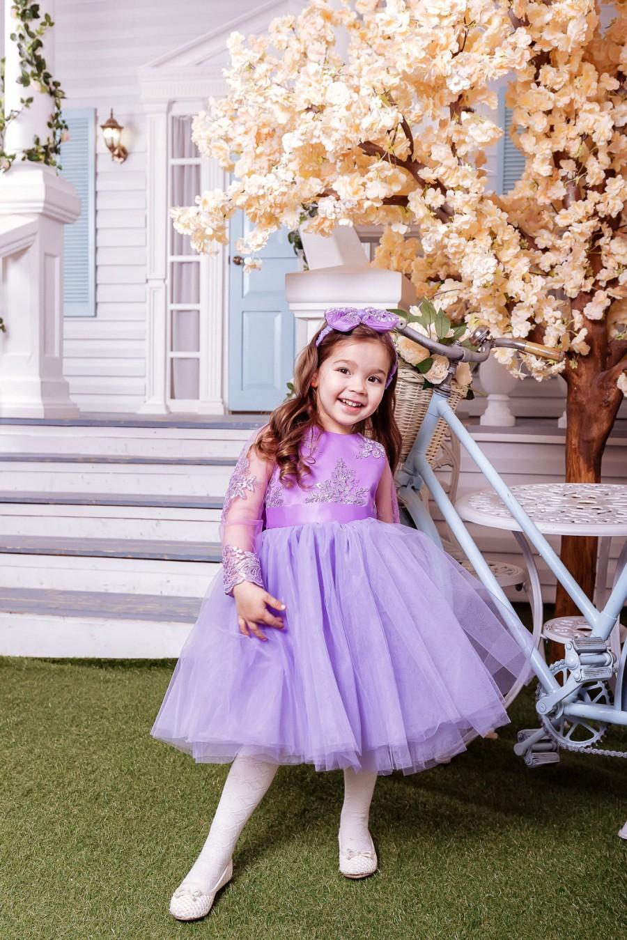 Purple Childrens Bridesmaid Dresses Gallery - Braidsmaid Dress ...
