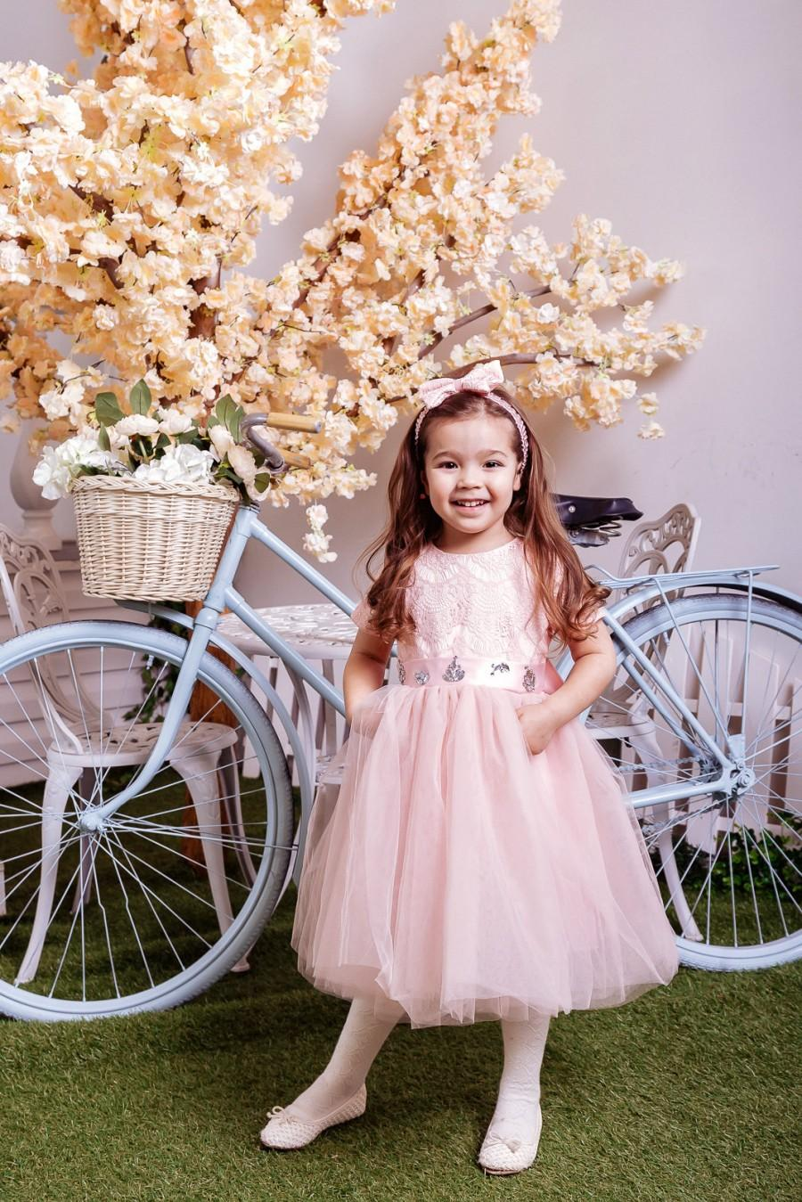 da2aecb41 Lace Flower Girl Dress