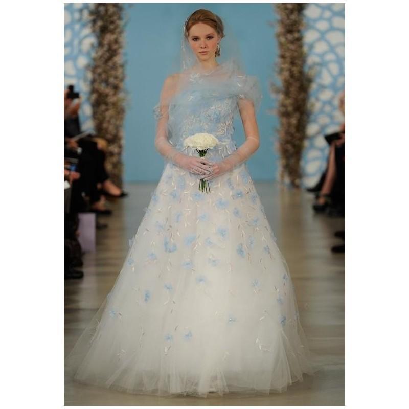 Oscar De La Renta Bridal 2014 Look 1 Wedding Dress The Knot