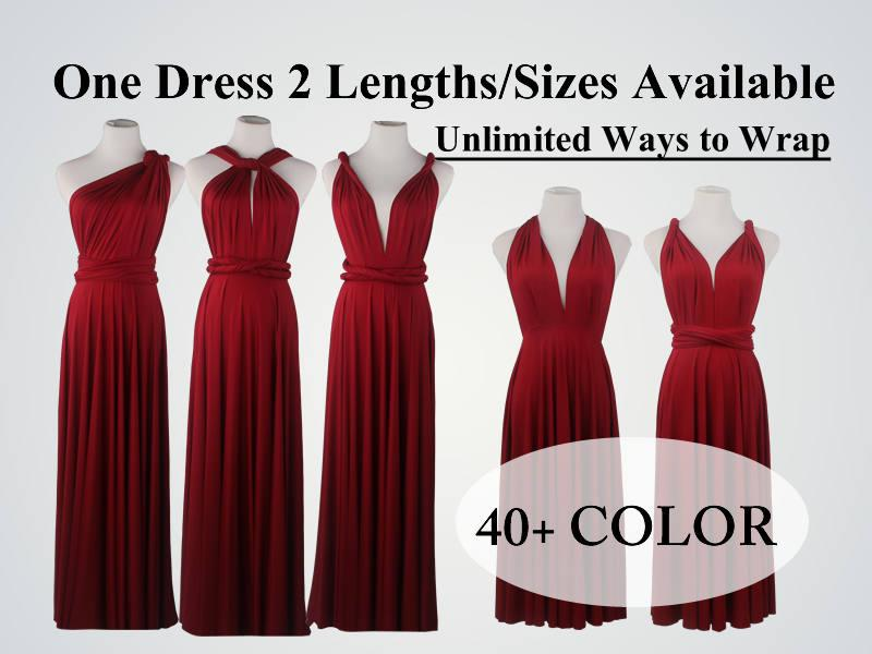 b96849cf853 Burgundy Wine Red Bridesmaid Dress