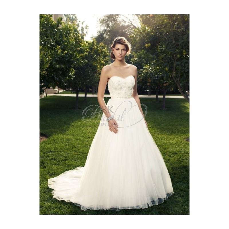 Wedding - Casablanca Bridal Fall 2012 - Style 2080 - Elegant Wedding Dresses