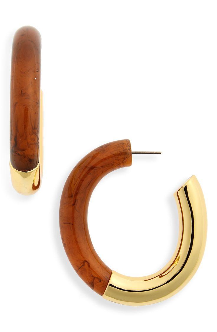 Mariage - Summer Of Love Hoop Earrings