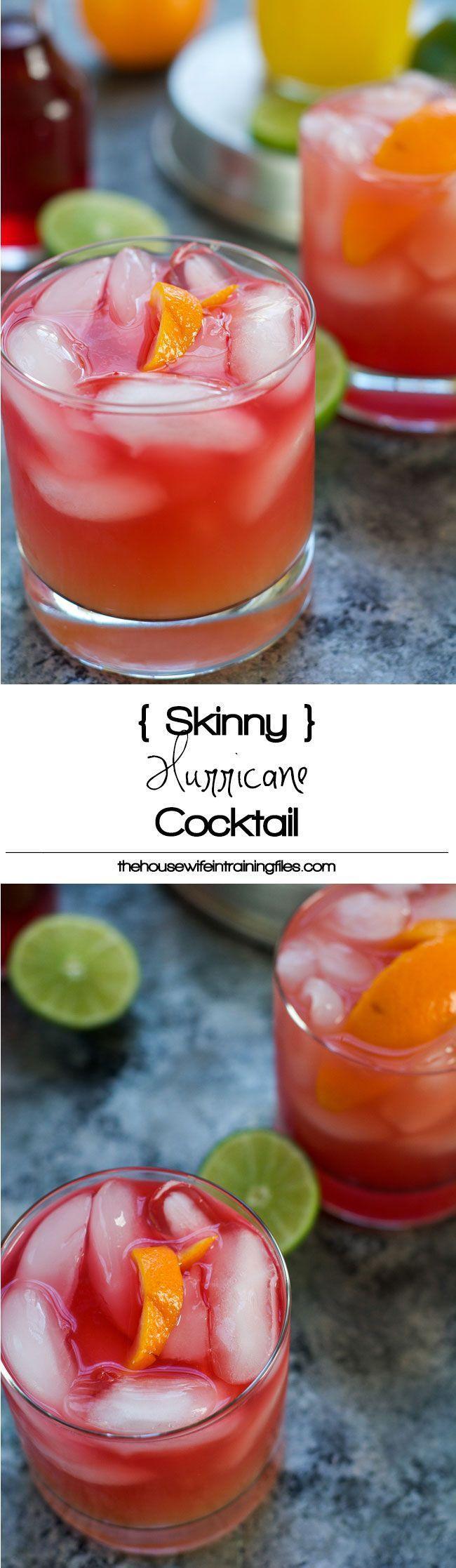 Wedding - Skinny Hurricane Cocktail