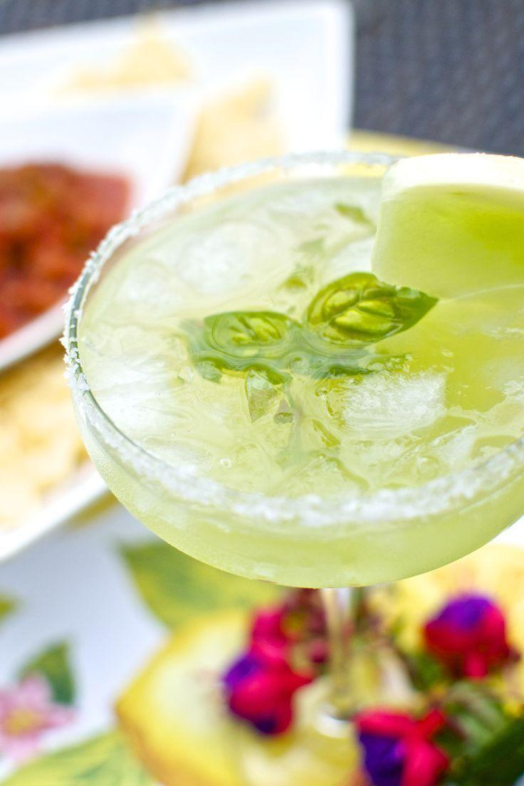 Wedding - Melon-Basil Margarita