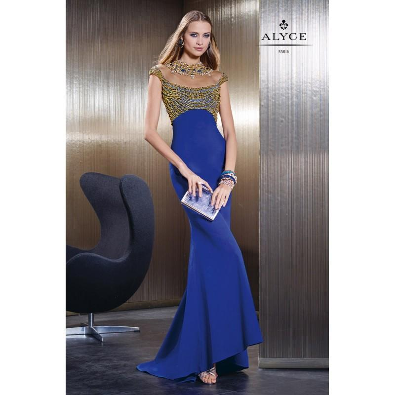 Wedding - Cobalt Claudine for Alyce Prom 2498 - Brand Wedding Store Online