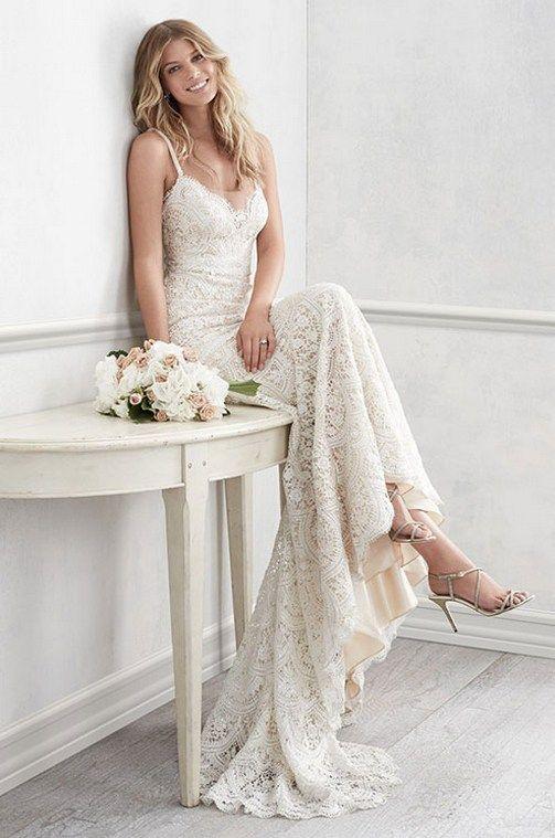 Wedding - Romance Lace Wedding Dresses Inspiration 75