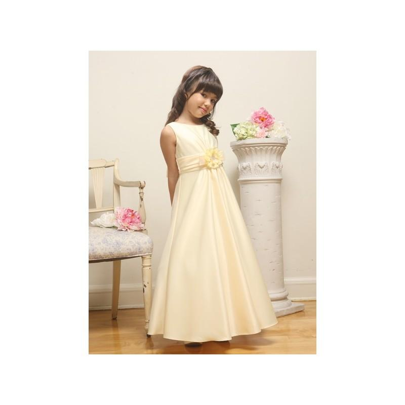 Свадьба - Banana Satin A-line Sleeveless Dress Style: D3380 - Charming Wedding Party Dresses
